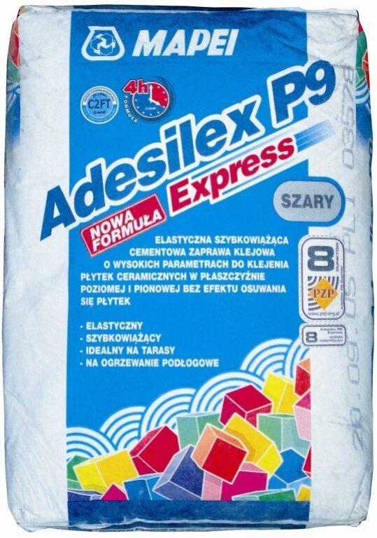 M-Adesilex P9 expres šedá cementové lepidlo á25kg - Stavební chemie / Lepidla