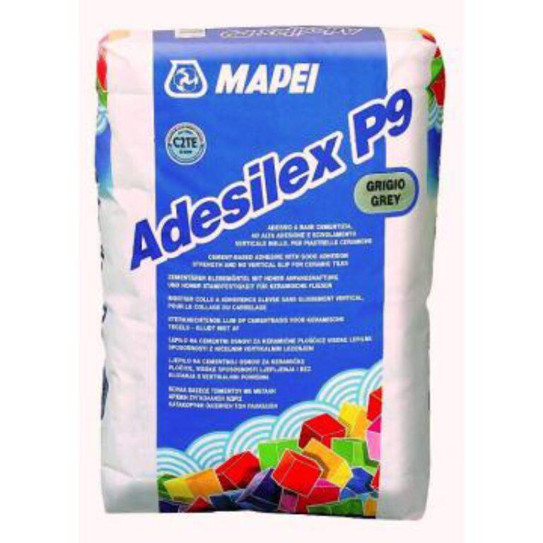 M-Adesilex P9 šedá cementové lepidlo á5kg - Stavební chemie / Lepidla / Katalog koupelen