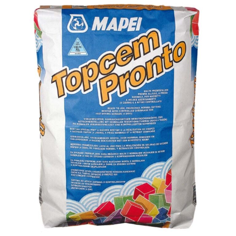 M-Topcem pronto předmíchaná malta á25kg - Stavební chemie / Příprava podkladu