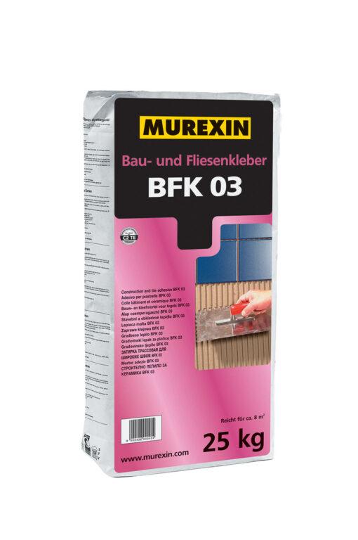 MUR Stavební a obkladové lepidlo BFK 03 á25kg 040454 - Stavební chemie / Lepidla