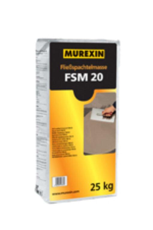 MUR Nivelační hmota podlahová FSM20 á25kg 078708 - Stavební chemie / Příprava podkladu / Katalog koupelen