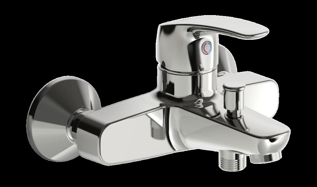 ORAS SAFIRA vanová a sprchová baterie chrom 1040U - Doprodej koupelnového vybavení / Vodovodní baterie v akci