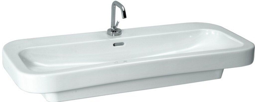 LAUFEN PALOMBA umyvadlo 100x50cm bílé 1080.6(ch107) I.j. - Sanitární keramika / Umyvadla do koupelny