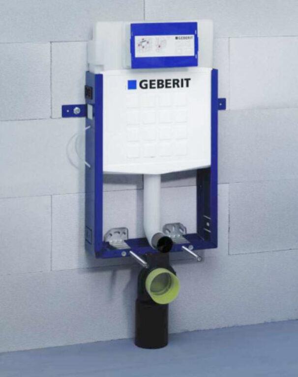 GEB- Kombifix pro závěsné WC s nádržkou UP320 110.300.00.5 - Sanitární keramika  / WC - toaleta  / Podomítkové moduly / Katalog koupelen