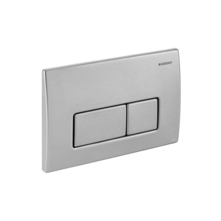 GEB- Ovládací tlačítko Kappa50 chromová ocel 115.258.00.1 - Sanitární keramika / WC / Toalety / Tlačítka k WC