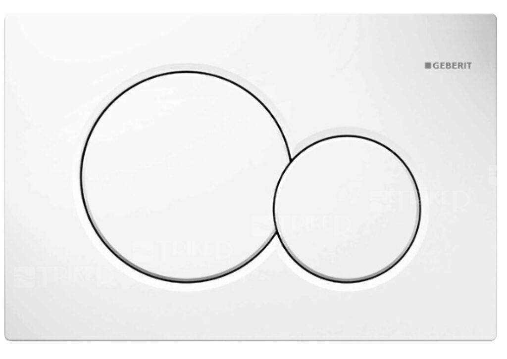 GEB- Ovládací tlačítko Sigma01 alpská bílá 115.770.11.5 - Sanitární keramika  / WC - toaleta  / Tlačítka k WC / Katalog koupelen