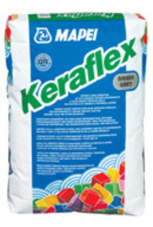 M-Keraflex cementové lepidlo šedá á25kg - Stavební chemie / Lepidla / Katalog koupelen