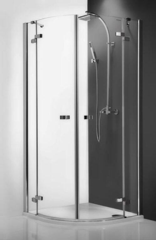 ROL-GR2/900 Brillant/Transp čtvrtkruhový sprchový kout - Sprchové kouty pro koupelny / Čtvrtkruhové sprchové kouty do koupelny / Katalog koupelen