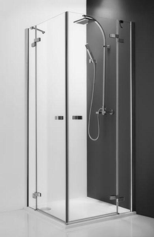 ROL-GDOL1/1200 Brillant/Transp sprchové dveře jednokřídlé levé - Sprchové kouty pro koupelny / Čtvercové sprchové kouty pro koupelny / Katalog koupelen