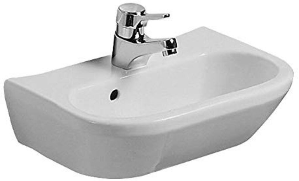 OBJECT umývátko 50cm bílé 1506.5 I.j.. - Doprodej koupelnového vybavení / Sanitární keramika v doprodeji / Umyvadla do koupelny v akci