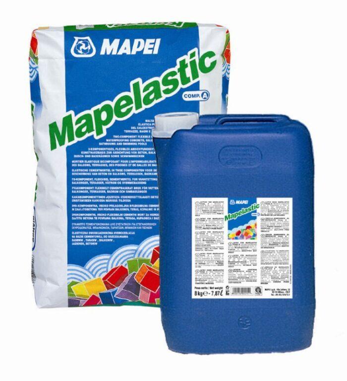 M-Mapelastic (složky A+B) cement.dvousl.hydroizolace á16kg - Stavební chemie / Příprava podkladu / Katalog koupelen