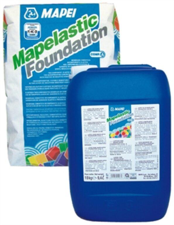 M-Mapelastic Foundation (složka A+B) cement.dvousl.hydroizolace á 32kg - Stavební chemie / Příprava podkladu / Katalog koupelen