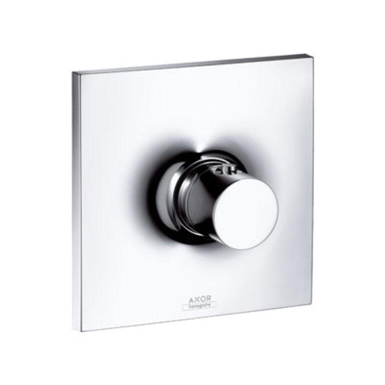 AX Massaud termostatická baterie pod omítku chrom 18740000 - Doprodej koupelnového vybavení / Vodovodní baterie v akci / Zlevněné sprchové baterie