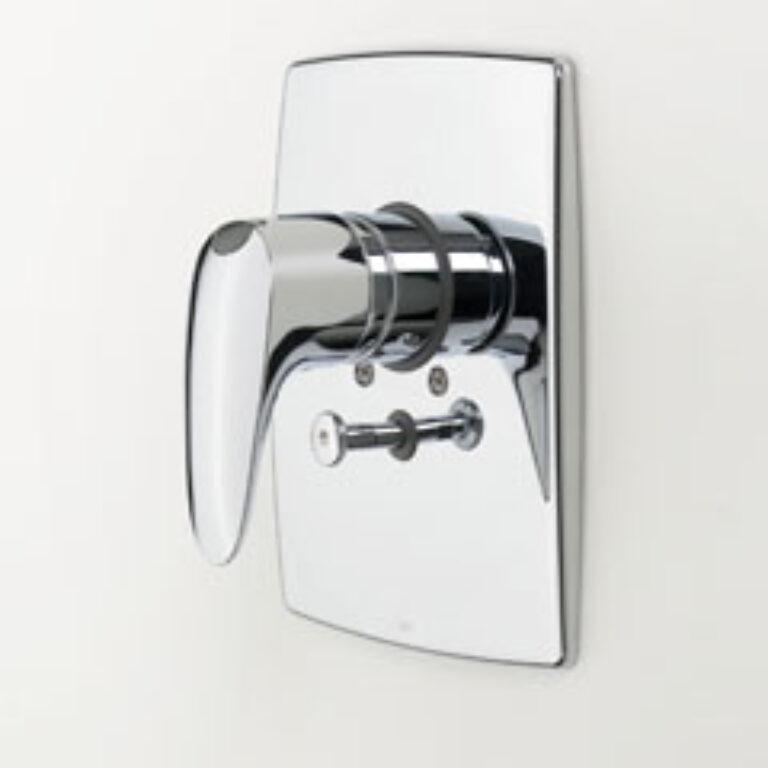 ORAS VEGA vanová+sprchová podomítková bat. EKO páka 1888 chrom - Vodovodní baterie / Vanové baterie