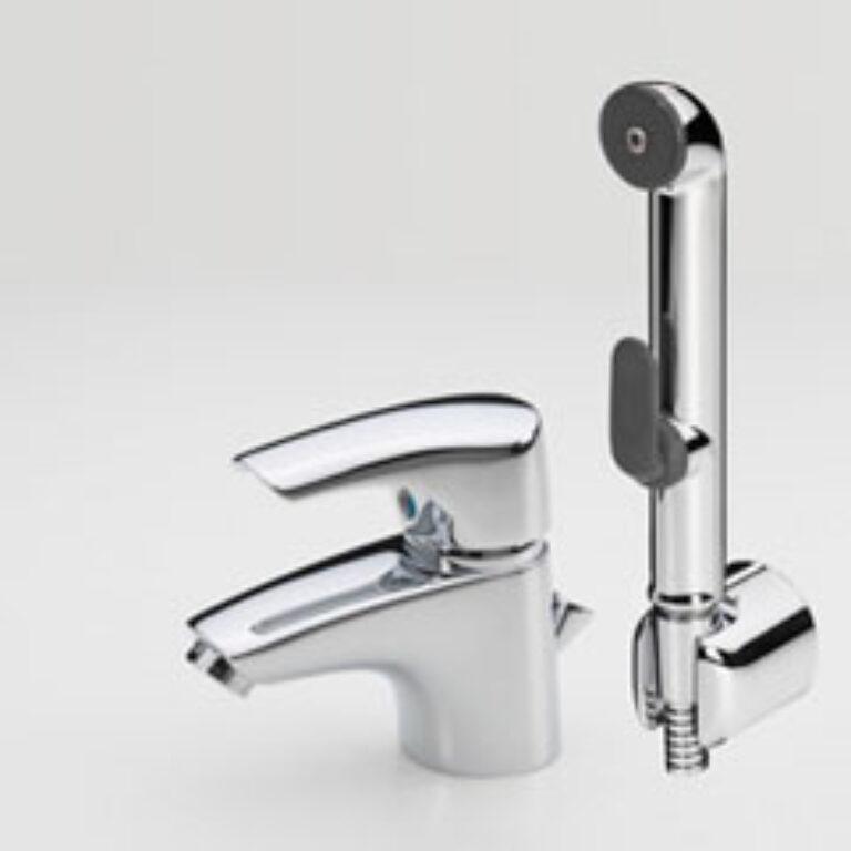 ORAS SAGA umyvadlová bat. Bidetta 1908F chrom - Doprodej koupelnového vybavení / Vodovodní baterie v akci / Umyvadlové baterie v doprodeji