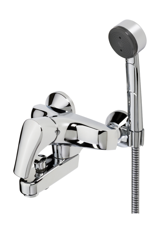 ORAS SAGA vanová/sprchová baterie s ruční sprchou Apollo - Doprodej koupelnového vybavení / Vodovodní baterie v akci / Vanové baterie v akci