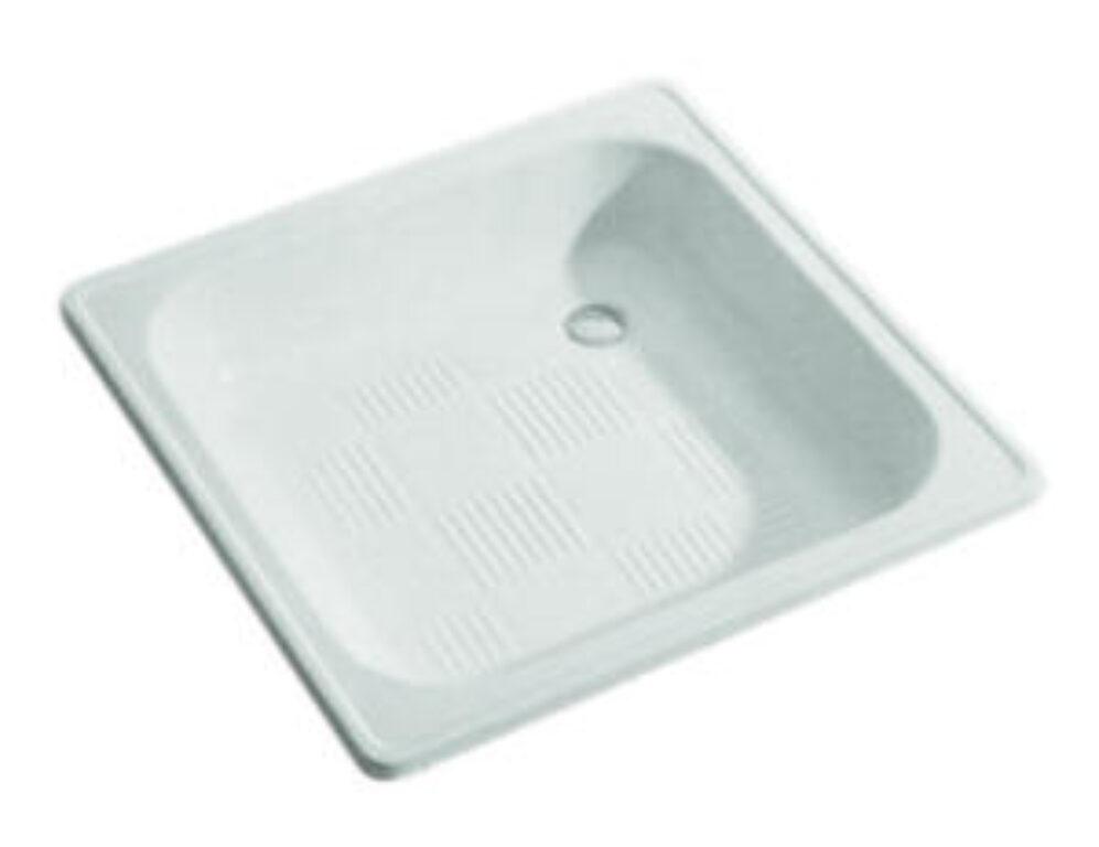 JIKA vanička SOFIA 70/70 bílá 1407.0(ch000) I.j. - Sprchové kouty pro koupelny / Sprchové vaničky do koupelny / Čtvercové vaničky / Katalog koupelen