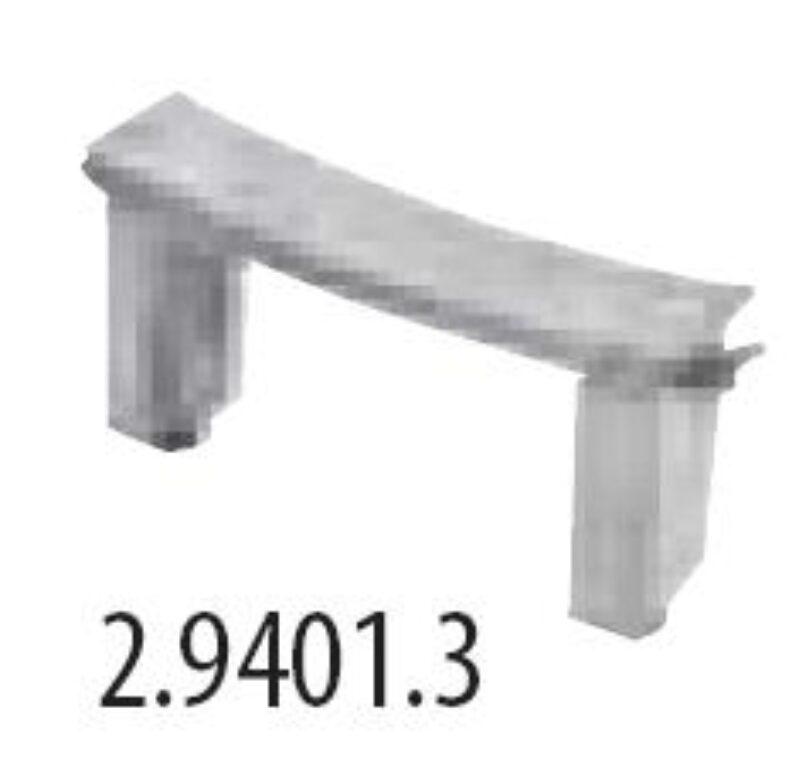ocelové nohy pro vany Praga - Vany / Vanové zástěny do koupelen