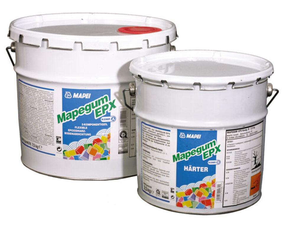 M-Mapegum EPX/A+B pružná tekutá rychleschnoucí stěrka á10kg - Stavební chemie / Příprava podkladu