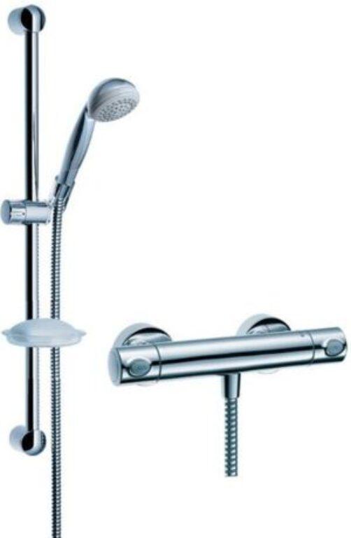 HG Croma 2jet/Ecostat1001 sprchová sada 27064000 - Doprodej koupelnového vybavení / Vodovodní baterie v akci / Sprchové sety za zvýhodněné ceny