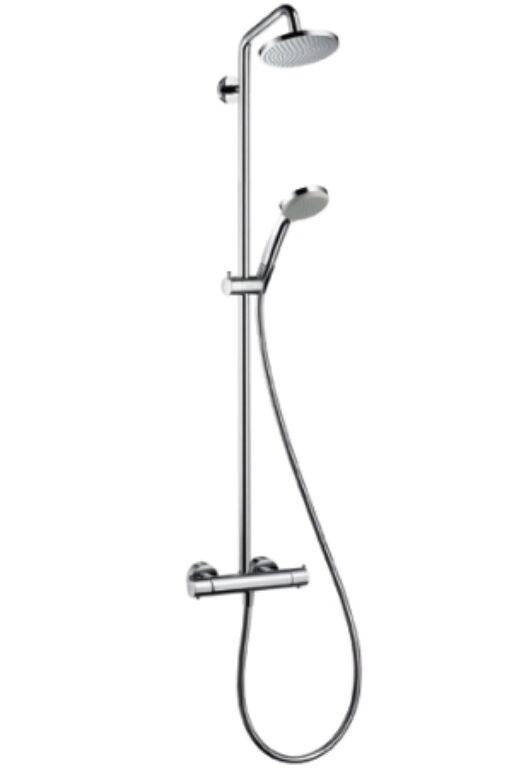 HG Croma 100 Showerpipe chrom 27169000 - Vodovodní baterie / Katalog koupelen