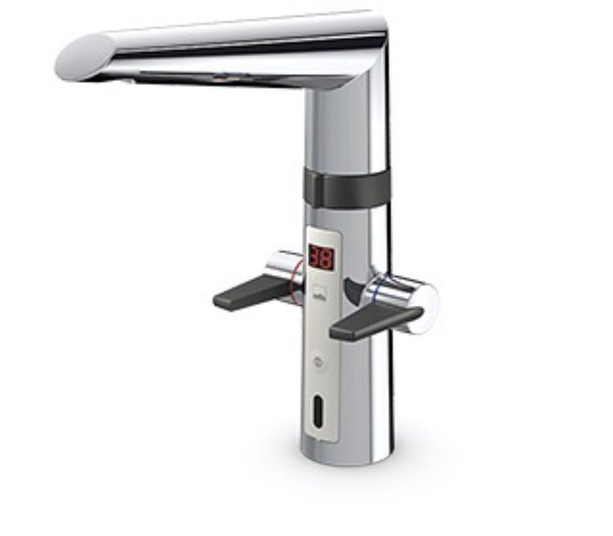 ORAS OPTIMA kuchyňská baterie bezdotyková, bateriové napájení 2725F - Vodovodní baterie / Kuchyňské baterie / Katalog koupelen