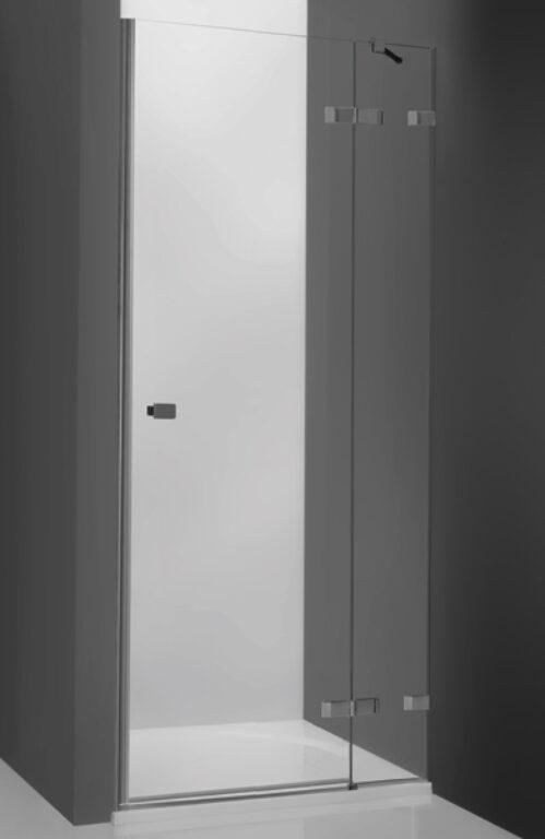 ROL-HPNL1/1200 Brillant/Transp sprchové dveře s jednokřídlími dveřmi do niky - Sprchové kouty pro koupelny / Dveře do niky / Katalog koupelen