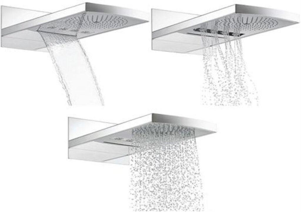 HG Raindance Rainfall horní sprcha chrom 28411000 - Doprodej koupelnového vybavení / Vodovodní baterie / Sprchové sety