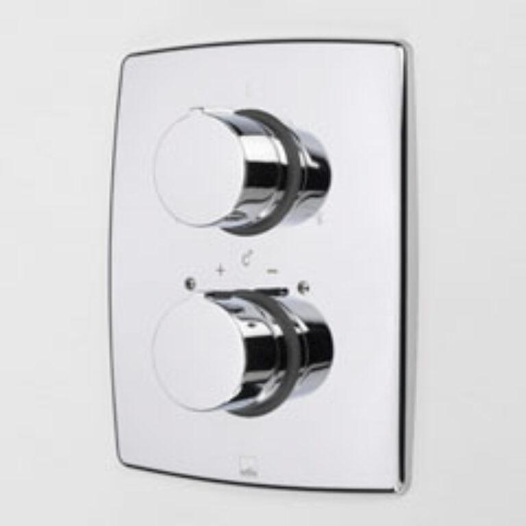 ORAS CUBISTA term.vanová+sprchová baterie 2888 - Doprodej koupelnového vybavení / Vodovodní baterie v akci / Termostatické baterie