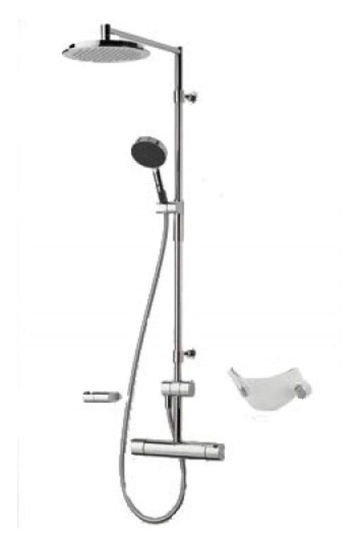 ORAS CUBISTA sprchová souprava (2870U+392) 2892U - Doprodej koupelnového vybavení / Vodovodní baterie / Sprchové sety