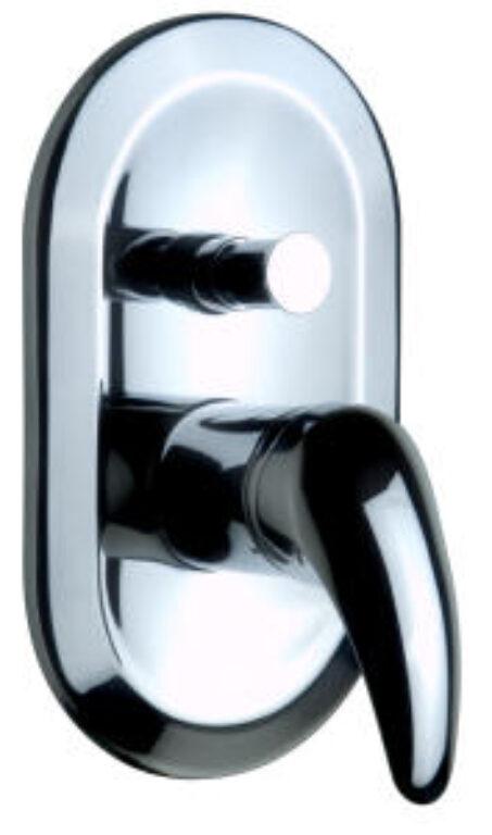 LYRA vanová podomítková baterie páková 2127.6 chrom I.j. - Vodovodní baterie / Vanové baterie / Katalog koupelen