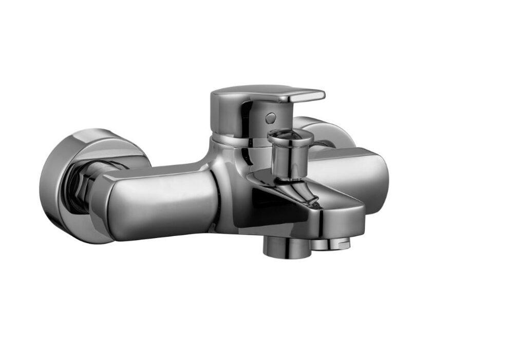 LAUFEN CITYPRO baterie vanová nástěnná páková bez příslušenství 2195.7(ch400)I.j - Doprodej koupelnového vybavení / Vodovodní baterie