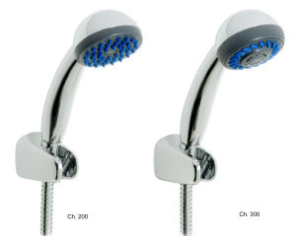 LYRA sprchová sada 6027.0 (ruč.sprcha,1funkce,držák,sprch.hadice 1,7m) chrom - Vodovodní baterie / Sprchové sety / Katalog koupelen