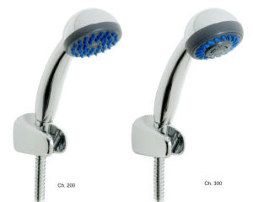 LYRA sprchová sada 6027.0 (ruč.sprcha,3funkce,držák,sprch.hadice 1,7m) chrom - Vodovodní baterie / Sprchové sety / Katalog koupelen
