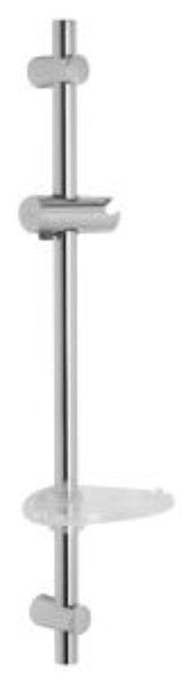 MIO sprchová tyč s posuv. držákem chrom 6471.0 I.j. - Doprodej koupelnového vybavení / Vodovodní baterie v akci / Příslušenství k bateriím