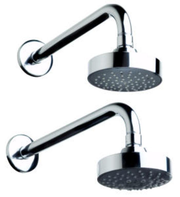 JIKA MIO hlavová sprcha 5 funkcí, průměr 100mm chrom 6771.0(ch021) I.j. - Vodovodní baterie / Hlavové sprchy / Katalog koupelen
