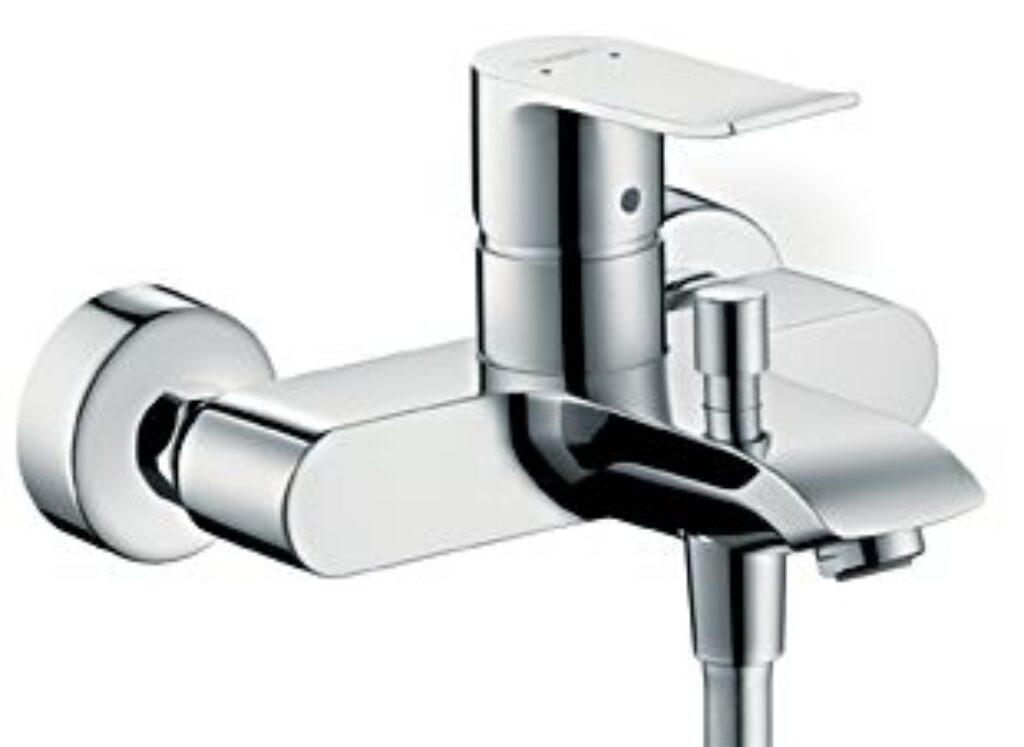 HG Metris páková vanová baterie na stěnu chrom 31480000 - Vodovodní baterie / Umyvadlové baterie / Katalog koupelen