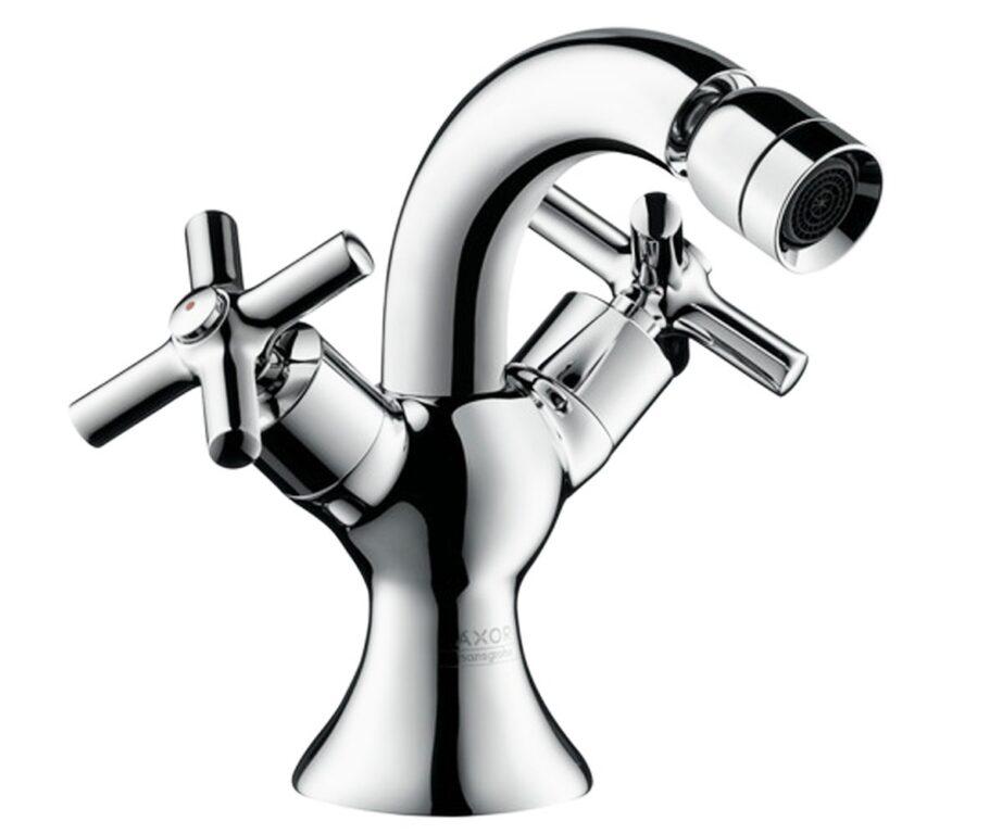 AX Terrano bidetová armatura se dvěma kohouty - Doprodej koupelnového vybavení / Vodovodní baterie / Bidetové baterie