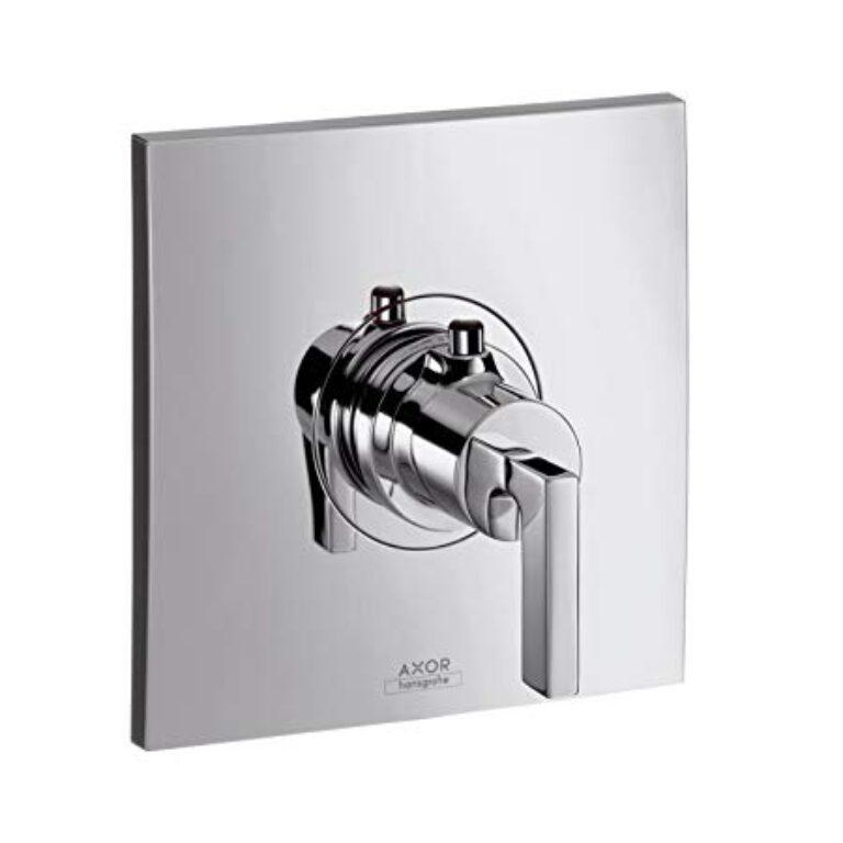 AX Citterio termostatická baterie pod omítku chrom 39710000 - Doprodej koupelnového vybavení / Vodovodní baterie v akci / Zlevněné sprchové baterie