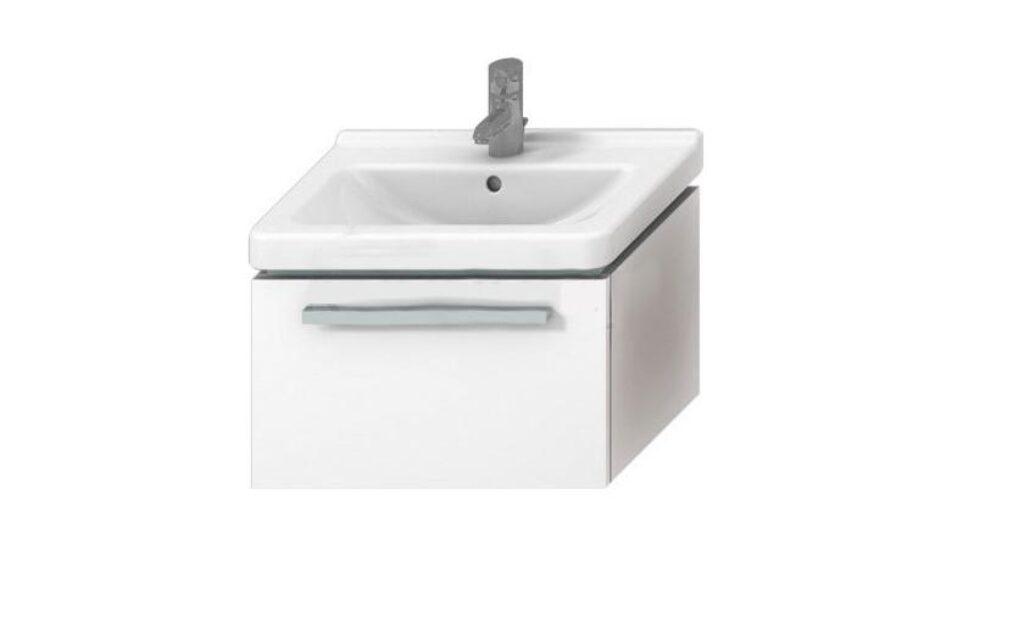 JIKA CUBITO skříňka pod umývátko 45cm bílá/bílá 5011.1(ch500) I.j. - Koupelnový nábytek / Skříňky pod umyvadlo / Katalog koupelen