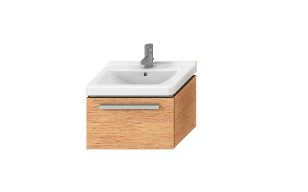 JIKA CUBITO skříňka pod umyvadlo 55cm fino/fino 4.5011.2.172.451.1 I.j. - Koupelnový nábytek / Skříňky pod umyvadlo / Katalog koupelen