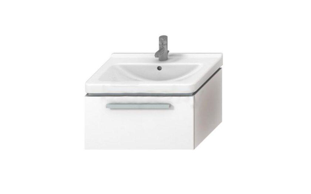 JIKA CUBITO skříňka pod umyvadlo 65cm bílá/bílá 4.5011.4.172.500 I.j. - Koupelnový nábytek / Skříňky pod umyvadlo / Katalog koupelen
