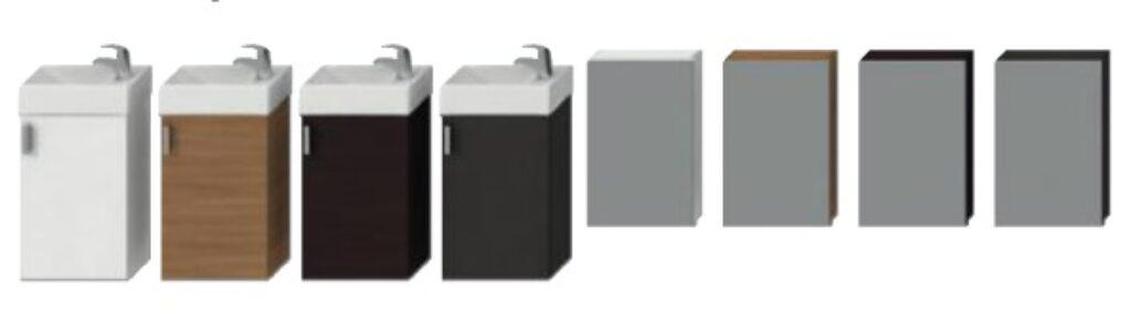 JIKA PETIT sada skříňka, umyvadlo, zrcadlo, osvětlení šedá 5351.2(ch301) - Koupelnový nábytek / Skříňky pod umyvadlo / Katalog koupelen