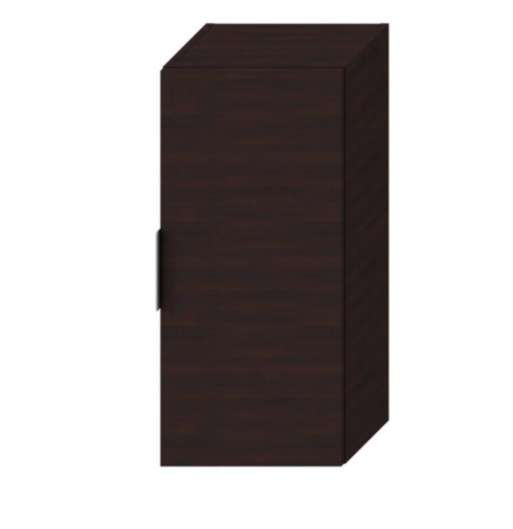 JIKA CUBE střední skříňka 75 cm tmavý dub 5371.1 (ch302) I.j. - Koupelnový nábytek / Doplňkové skříňky / Katalog koupelen