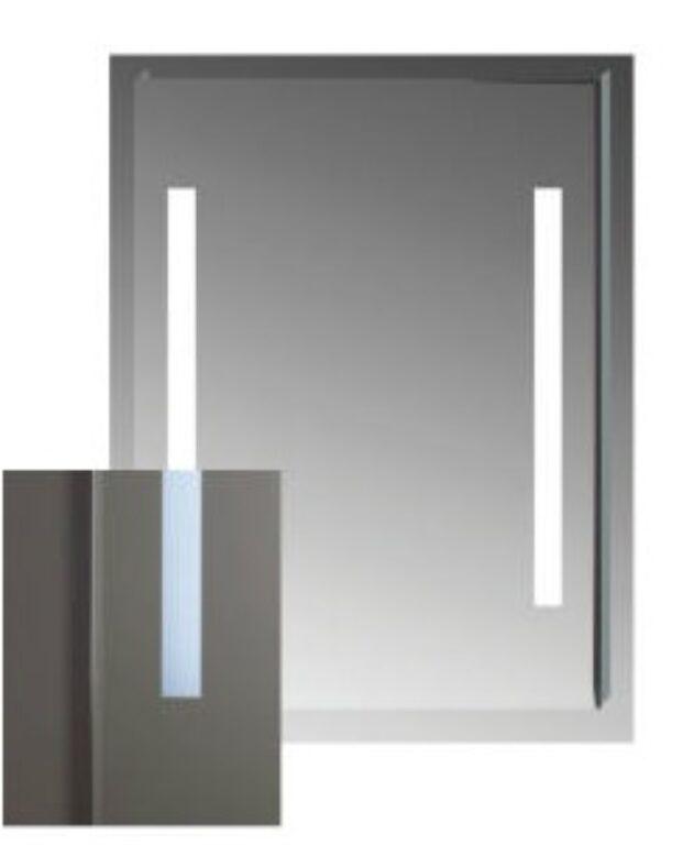 JIKA CLEAR zrcadlo s osvětlením bez vypínače 55x81cm 5571.3 I.j. - Koupelnové doplňky / Zrcadla do koupelny / Katalog koupelen