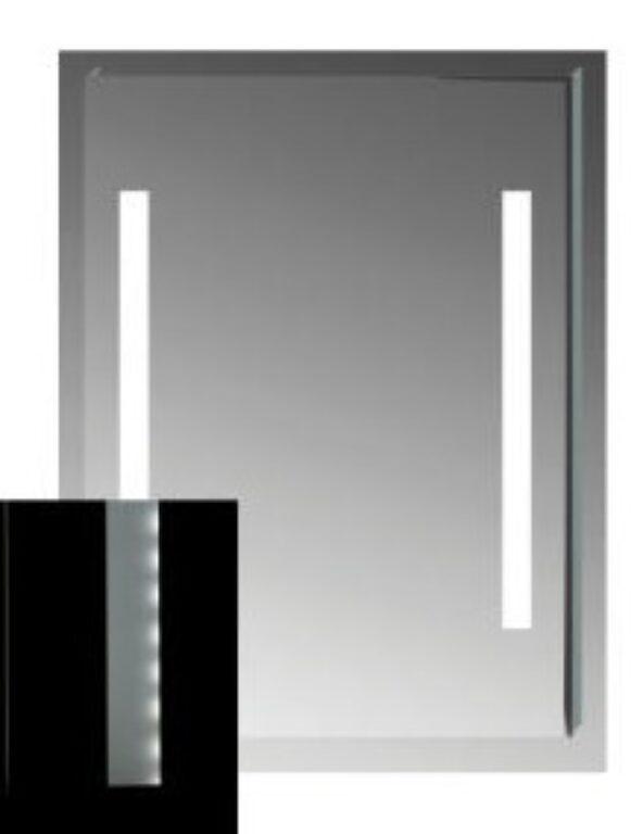 JIKA CLEAR zrcadlo s LED osvětlením bez vypínače 55x81cm 5571.5 I.j. - Koupelnové doplňky / Zrcadla do koupelny / Katalog koupelen