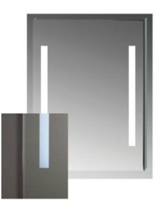 JIKA CLEAR zrcadlo bez vypínače 70x81cm 5573.3 - Koupelnové doplňky / Zrcadla do koupelny / Katalog koupelen