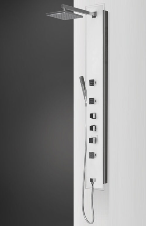 ROL-LUCE KVADRO masážní panel do rohu/na stěnu (4000381) - Masážní systémy / Masážní panely / Katalog koupelen