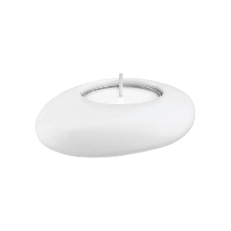 AX Massaud svícen porcelánový bílý 42271000 - Doprodej koupelnového vybavení / Koupelnové doplňky v doprodeji