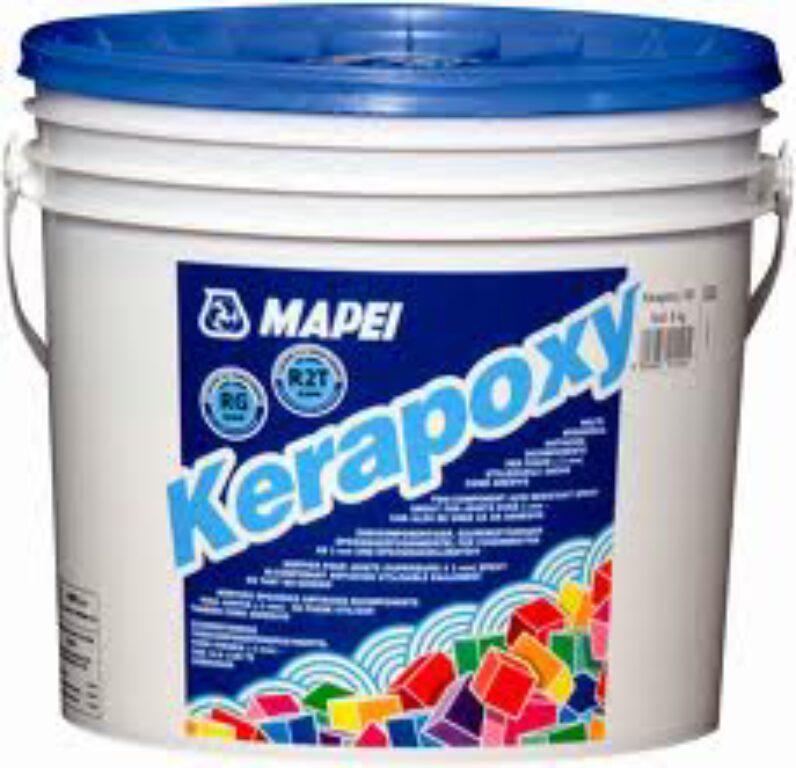 M-Kerapoxy 171 dvousl.epoxidová hmota(spár.+lepení) tyrkysová á5kg - Stavební chemie / Spárování